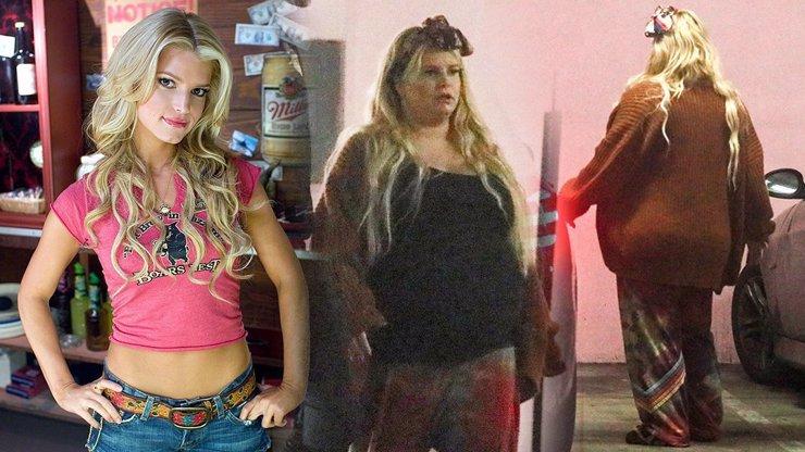 Drastická proměna Jessiky Simpson: Jsem oteklá těhule, která nemůže pomalu ani chodit!