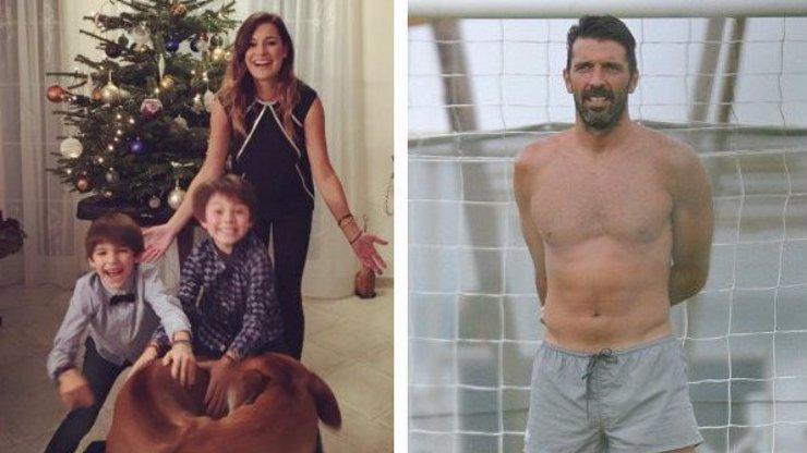Ke svým synům se Gigi Buffon zachoval jako největší srab: Alena Šeredová prozradila, čím ji nejvíce zklamal!