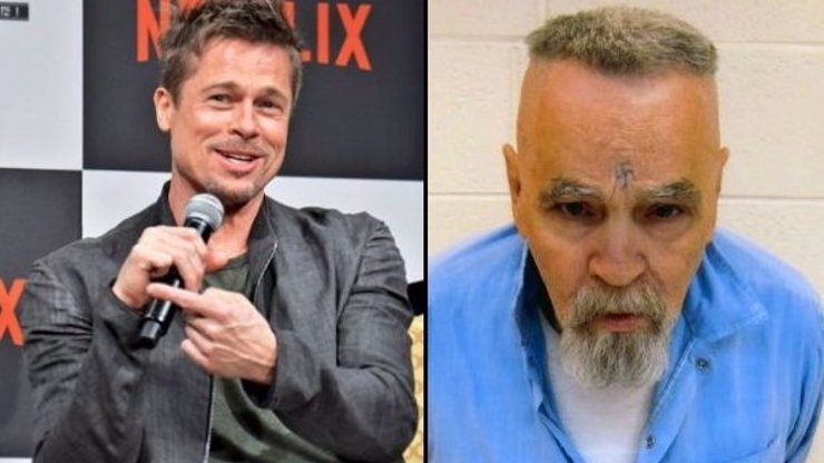Tarantino chce natočit film o vrahovi Charlesi Mansonovi! Bude hrát šílence s hákovým křížem na čele Brad Pitt?