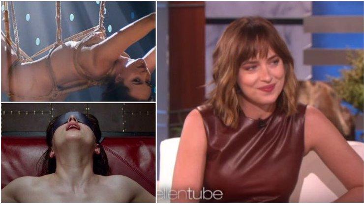 Anastasia z 50 odstínů šedi přiznala: Dostávám se kvůli filmu do divných situací a není to příjemné