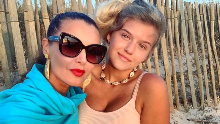 Iva Kubelková má božsky krásnou dceru: Natálka šlape mámě na paty