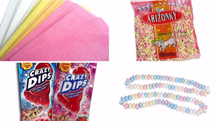 Retro sladkosti: Tohle jsme jako malí mlsali