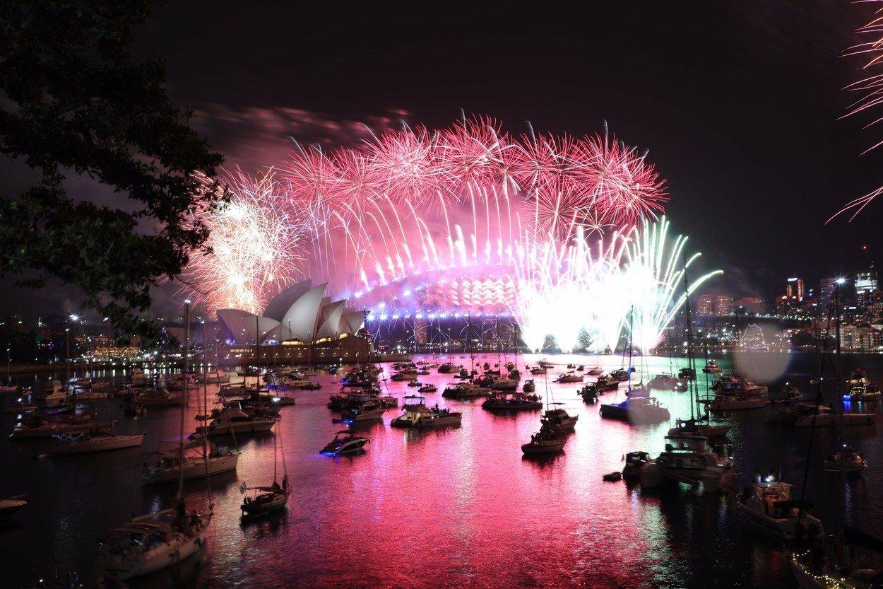 VIDEO: Rok 2019 už je tady! Podívejte se, jak slavili Australané