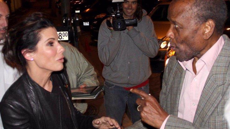 Trapas Sandry Bullock: Její oblíbený herec nepoznal, že je také slavná! Jak se hvězda Nebezpečné rychlosti tvářila?