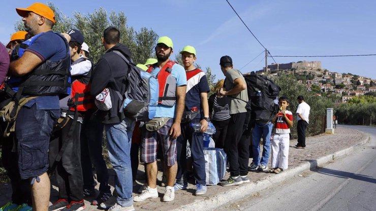 Na uprchlíky v Chorvatsku spadl kus skály, dva migranti jsou po smrti