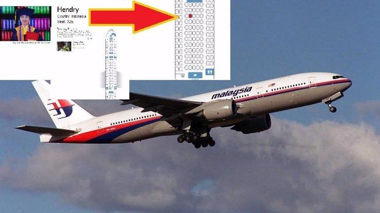 Tak to je maso: Internetem koluje plánek sestřeleného letadla i s osobními údaji cestujících, podívejte se!