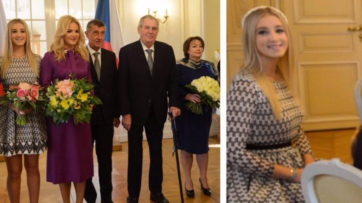 Babiš i s dětmi na obědě u Zemana: Prezident překvapil skvělou kondicí a Vivien půvabem