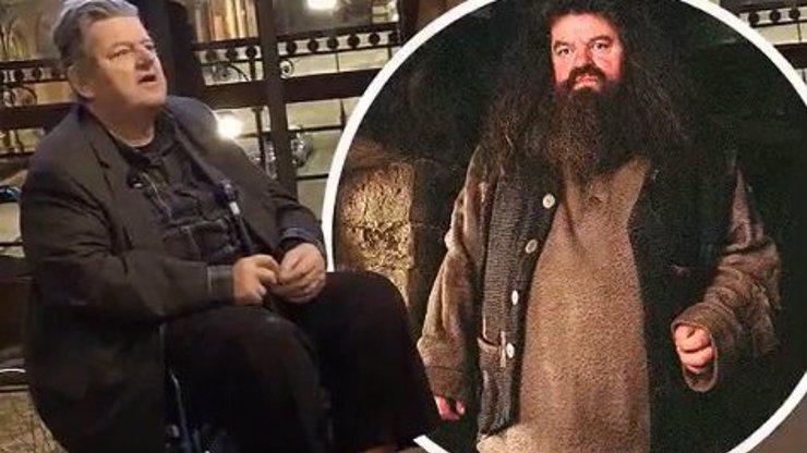 Obr Hagrid je na vozíčku: Hvězdě z Harryho Pottera se bortí kolena!
