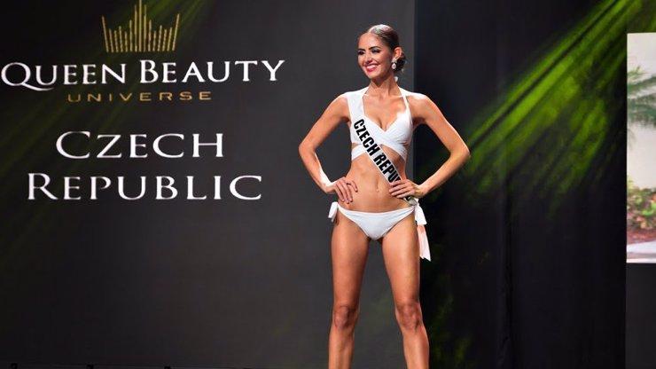 Parádní úspěch krásné Češky na Queen Beauty Universe: Půvabná Lucie skončila na bedně