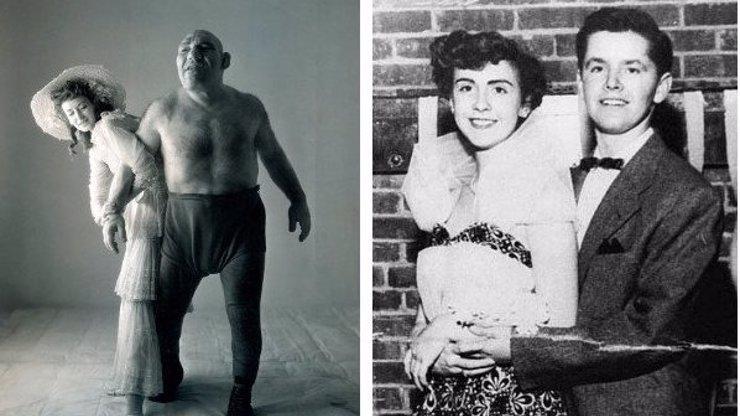 12 úžasných fotek z minulosti: Muž, který vypadá jako Shrek, nebo Jack Nicholson na maturiťáku!