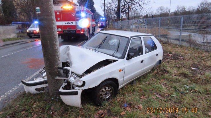 Záchranná mise vánočního kapra: Řidičce skočil za jízdy do klína, nehodu nepřežil