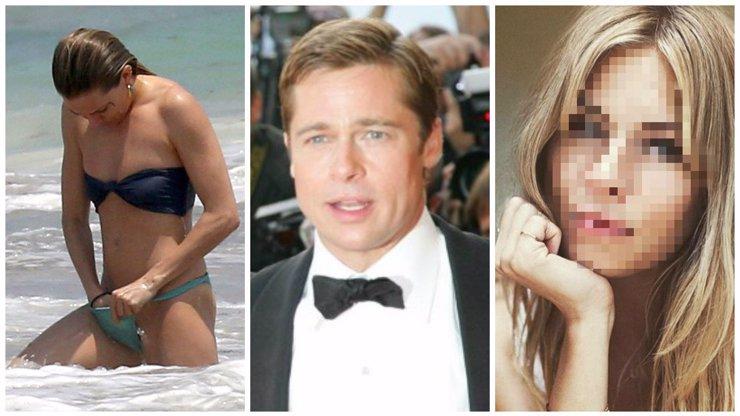 Brad Pitt začal konečně randit: Vybral si pravý opak Angeliny!