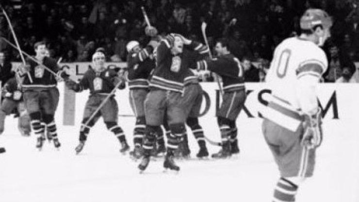 8 tematických retro fotek, vztahujících se k MS v hokeji