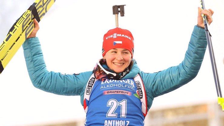 Veronika Vítková oznámila konec kariéry: Reprezentantka v biatlonu čeká miminko