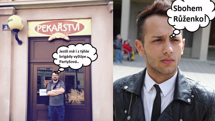 Ulice očima odborníka Novotného: Došel jsem až do krámku, kde zrůda Nyklová týrá retardovanou Růžu, které to ale patří!