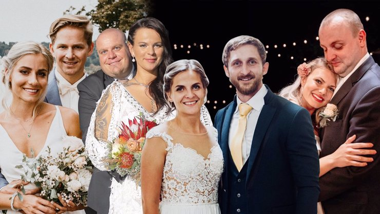 Nečekaný konec show Svatba na první pohled: Rozešel se jen jeden pár, ostatní zkusí štěstí