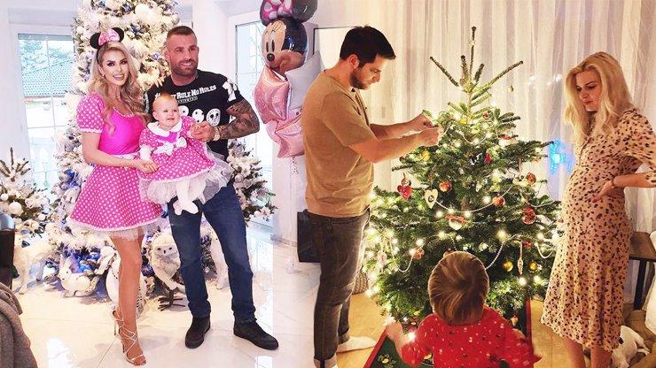 Absolutní souboj kýče s jednoduchostí: Celebrity svedly boj o nejlepší vánoční stromeček