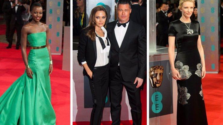 Předávání cen BAFTA: 7 celebrit a jejich róby. Kdo se na slavnostní večer vyšvihl a kdo byl naopak za maškaru?