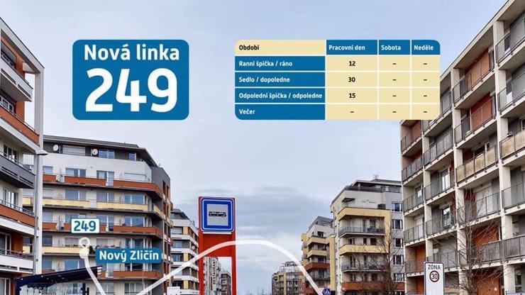 Nová autobusová linka v Praze měří jen 700 metrů: Jízda bude trvat tři minuty