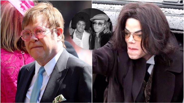 Elton John promluvil o Michaelu Jacksonovi: Byl psychicky nemocný a bylo mi z něj zle