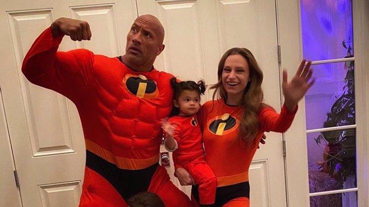 Dwayne Johnson si užívá Den otců: Něžný obr celoročně ukazuje, jak úžasný je táta