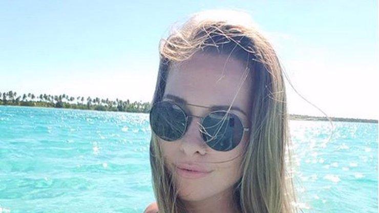 Sporťačka Inna Puhajková ukázala sexy zadeček: Na dovolené vystavuje dokonalé tělo!