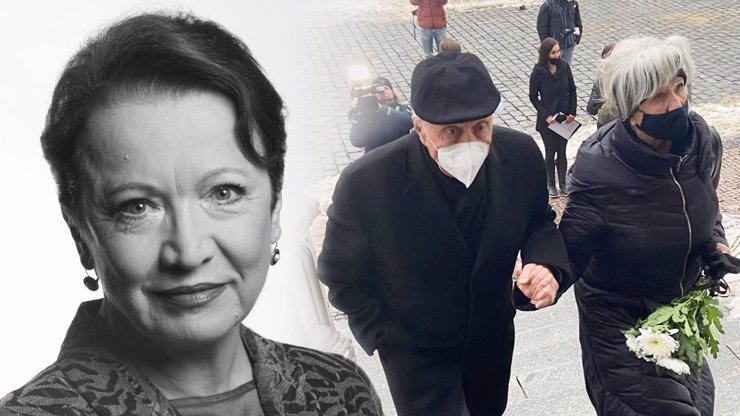 Smutné loučení s Hanou Maciuchovou: Dojatý Kostka, Mayerová i Schneiderová