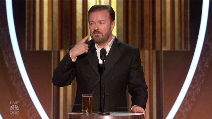 Vezměte si cenu a vypadněte: Moderátor Zlatých glóbů se drsně obul do nominovaných