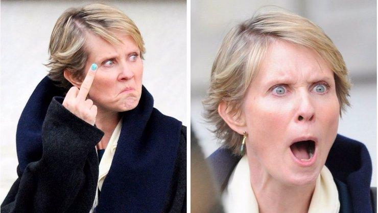 Vybouchla jako papiňák! Z rozzuřené Cynthie Nixon alias Mirandy ze Sexu ve městě se stává despotická kreatura