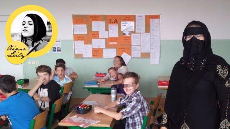 Hysterie kolem islámu dosáhla vrcholu: Učitelka v šátku zpestřila výuku a Češi se mohou zbláznit