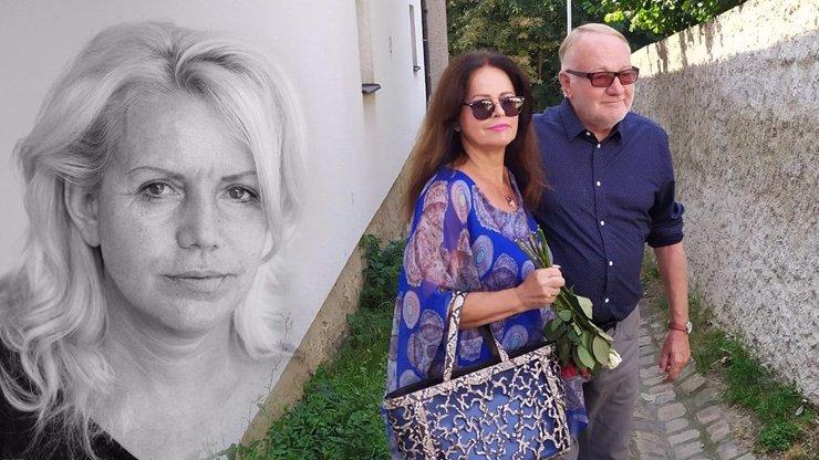 Tajné rozloučení s Hankou Krampolovou (†59): Řekla mi, že mě milovala, zavzpomínal bavič Luděk Sobota