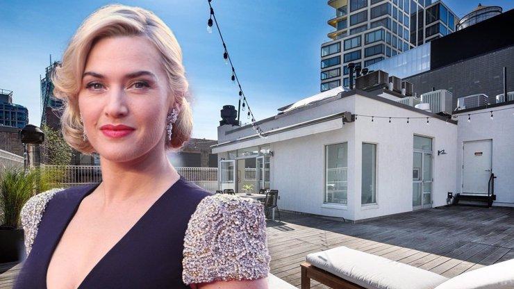 Kate Winslet prodává svůj newyorský apartmán: Moderní luxus za miliony