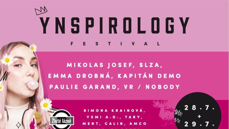 Festival Ynspirology potřetí! Ve Žlutých lázních a s hvězdnými hosty i atrakcemi