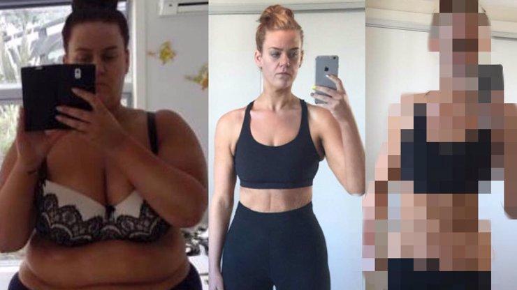 Žena zhubla za necelý rok víc jak 80 kg, lidi jí ale píšou, že je to fake. Z foto vzkazu, který jim zaslala, sklapne i vám!