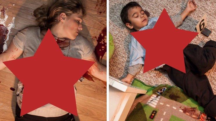 Případy 1. oddělení: Nejbrutálnější fotografie z místa činu zachycují vraždu těhotné ženy a jejího syna. Je vidět úplně vše!