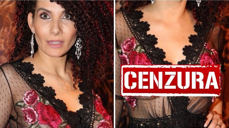 Eva Decastelo sexy jako nikdy předtím. Průhledné šaty bez podprsenky odhalily vše!