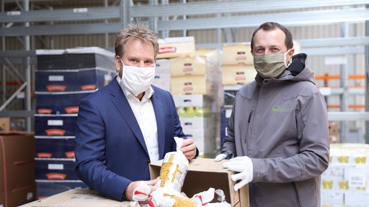 Dar potřebným. Tesco darovalo lidem v nouzi potraviny v celkového hodnotě 4,5 milionu korun