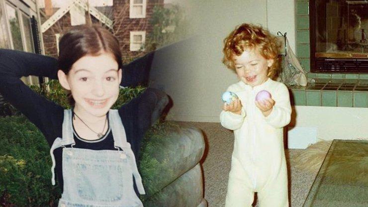 Dětská verze slavných celebrit: Anne Hathaway se nezměnila, Efrona byste nepoznali
