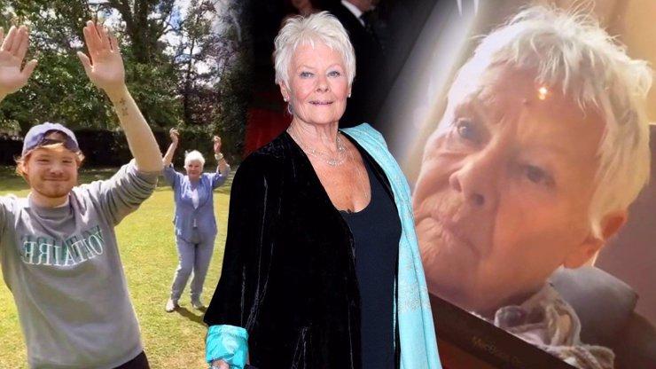 Distingovaná dáma Judi Dench: Život v karanténě jí v jejích 86 letech zachránil TikTok