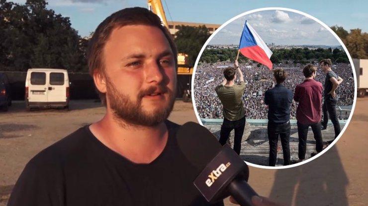 Když Babiš odstoupí, nahradí ho kdokoliv z ANO, říká organizátor protestů Robin Suchánek