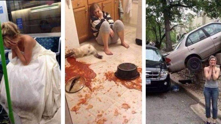 14 otřesných fotek lidí, kteří opravdu neměli svůj den: Devátá je vážně nechutná