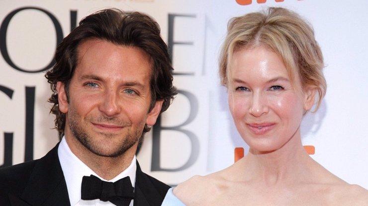 Prostě ji miluji, říkal Bradley Cooper o Renée Zellweger: Pak ji ale odkopl