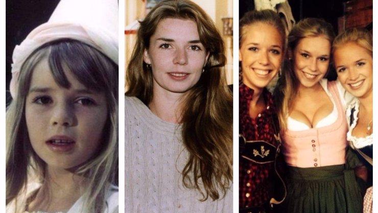 Představitelka Leontýnky z filmu Ať žijí duchové má 3 krásné dcery: Žijí v Německu a vy je musíte vidět