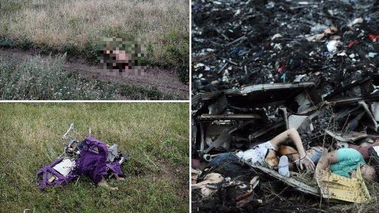 15 děsivých fotek ukazujících obrovskou tragédii sestřelení malajsijského letadla