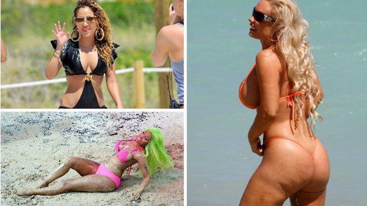 Plážové peklo: 8 strašidelných modelů, které nosí k vodě slavné celebrity