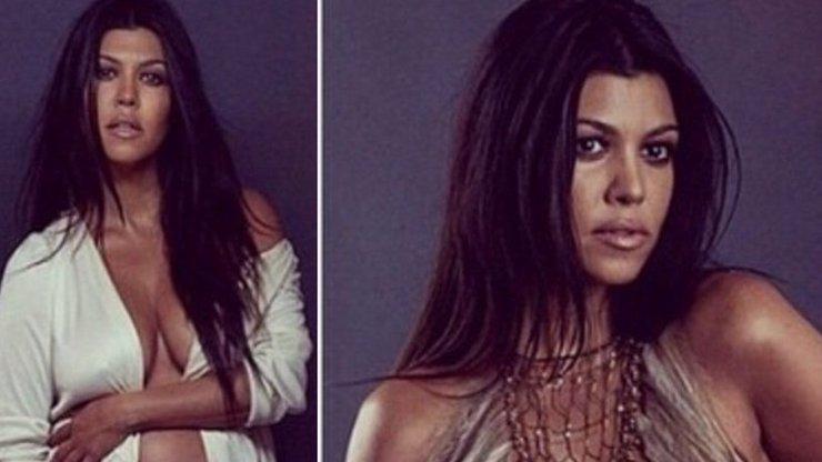 Poslední volání o pozornost: Méně slavná sestra Kim Kardashian ukazuje prsa a těhotenský pupek