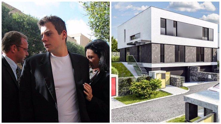 Syn Radovana Krejčíře nestrádá: V Praze koupil vilu za 16 milionů!