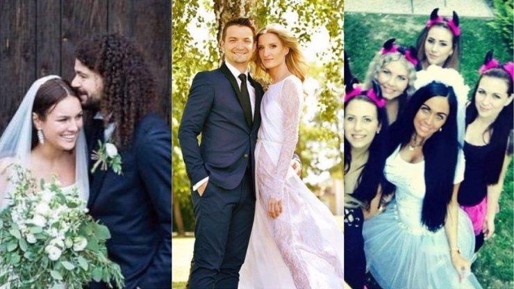 Podívejte se na Top 10 svateb roku 2017. Kdo všechno do toho loni praštil?