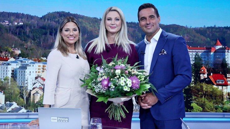 Bez slz se to opět neobešlo: Hvězda CNN Prima News Sandra Pospíšilová odchází na mateřskou