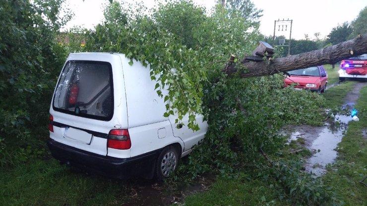 Výstraha před silnými bouřkami: Hrozí nebezpečí úrazu, pozor by si měli dávat řidiči